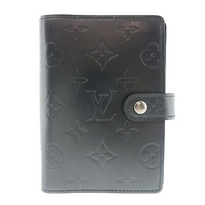 Authentic LOUIS VUITTON Mat Agenda PM Day Planner Cover Monogram #f49178