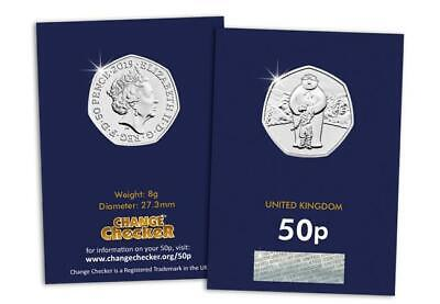 Brand New 2019 UK The Snowman Certified BU 50p Coin - Free P&P