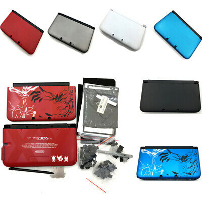 8 Colors Full Set Housing Shell Case Cover Replacement Kit For 3DS XL/LL Pokemen