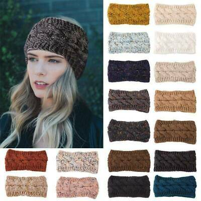 Hot Womens Beanie Tail Messy Bun Hat Ponytail Stretchy Knitted Crochet Skull Cap