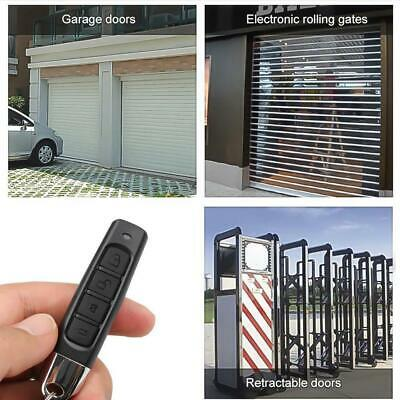 Universal Replacement Garage Door Car Gate Cloning Remote Control Key Fob 315MHZ