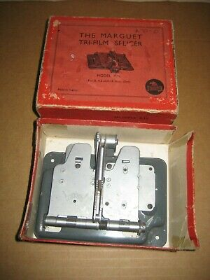 Vintage The Marguet Tri-Film Splicer with box.