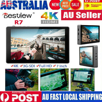 """Bestview R7 7"""" 3D Lut Portable LCD 4K HDMI Monitor Full Touch Screen For Camera"""