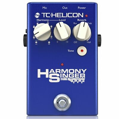 TC-Helicon Harmony Singer 2 Vocal Processing Pedal with Up to 2 Harmony Voices,