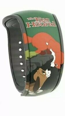 Disney Parks Fox and the Hound Best Friends Magic Band 2 WDW LR