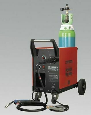 Sealey MIGHTYMIG210 Professional Gas/No-Gas MIG Welder 210Amp with Euro Torch