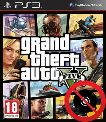 gta v grand theft auto v para PS3