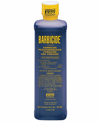 Barbicide Disinfactant Solution 473 ml