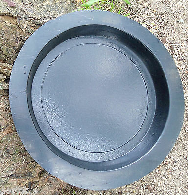 """Plain stepping stone mold resin concrete plaster mould 12"""" x 1.5"""" thick"""