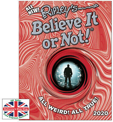 Ripley's Believe It or Not! 2020 HARDCOVER *BRAND NEW*