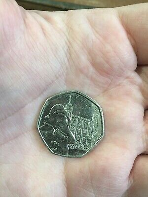 2019 PADDINGTON BEAR AT THE TOWER OF LONDON 50P COIN ISSUE NEW 50p UNCIRCULATED