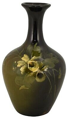 Roseville Pottery Rozane Yellow Floral Vase 836-7