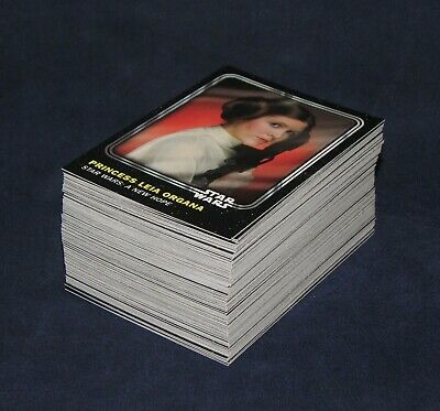 2016 Topps Star Wars Card Trader  PHYSICAL Set of 100 Base Cards