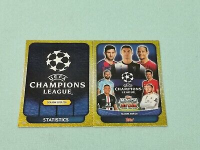 Topps Match Attax Champions League 2019/2020 alle 2 UCL Cards 19/20
