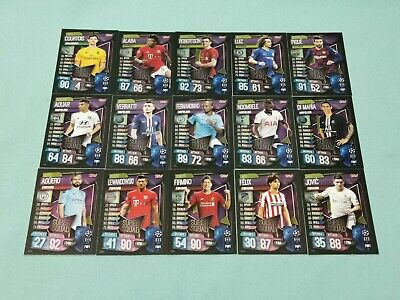 Topps Match Attax Champions League 2019/2020 alle 15 Super Squad  19/20