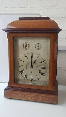 Large Antique 3 Train 5 Gongs Musical Westminster Chime Kienzle Bracket Clock