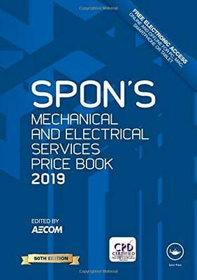 Spon's Book Mechanical and Electrical Services Price Book: 2019 DIGITAL FORMAT
