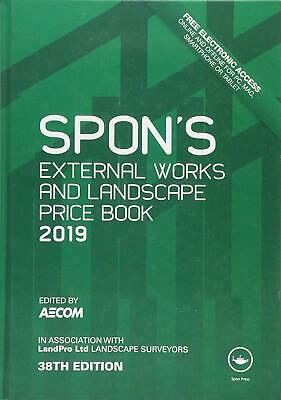 SPON'S Book External Works and Landscape Price Book 2019 ELECTRONIC VERSION