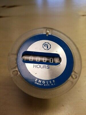 EI Hours Gauge Engler Jersey City N.J Time Indicating Equipment