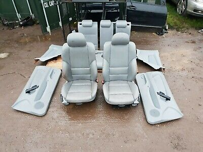 Bmw E46 3 Series Compact M Sport Full Grey Leather Interior Seats