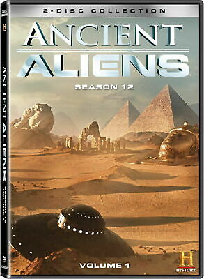 Ancient Aliens Season 12 Volume 1 [DVD] NEW 2019 FREE SHIPPING