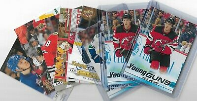 2019-20 Upper deck Series 1 UD YOUNG GUNS U PICK FROM LIST #201-250 + Canvas