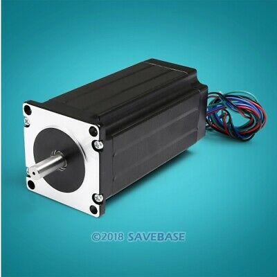 ENGMATE EMA232-11235S4 Nema 23 CNC Router Stepper Motor 4 Wire Single Shaft