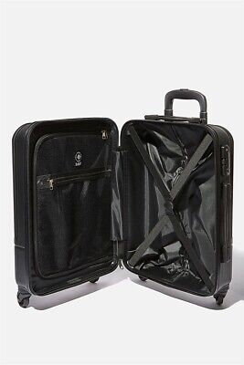 Lost Unisex Sml 19Inch Hard Suitcase Lost Bags  In  Black