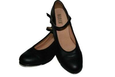 as NEW * BLOCH  SHOW STOPPER LEATHER TAP SHOES  Size: 7.5