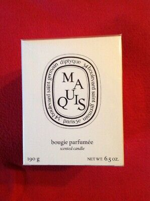 Diptyque Scented Candle - Maquis   190g/6.5oz New Boxed Sealed