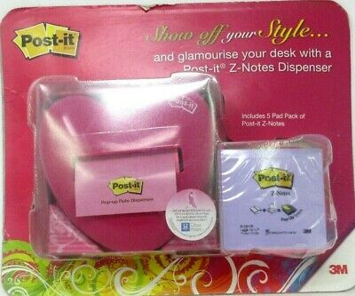 Collectible Post-it Pop-up Note Dispenser w/Pop-up Sticky Notes