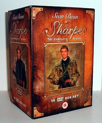 SHARPE - The Complete Series - 14 DVD Box Set - Sean Bean - Napoleonic Wars