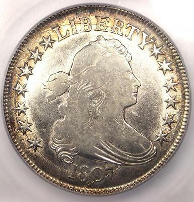 1807 Draped Bust Half Dollar 50C - Certified ICG XF40 (EF40) - $1,770 Value!