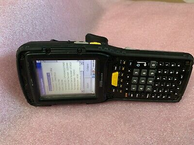 Psion Teklogix Omnii XT10 Handheld Barcode Scanner 7545 XV high impact with grip