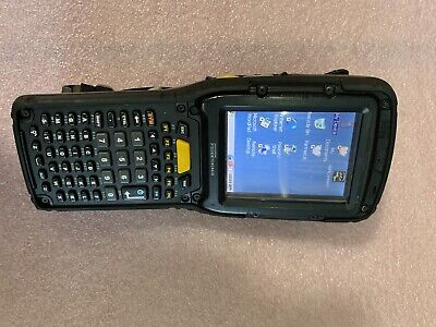 Psion Teklogix Omnii XT10 Handheld Barcode Scanner 7545 XV high impact no grip
