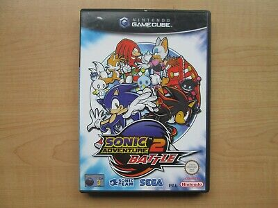 Nintendo Gamecube - Sonic Adventure 2 Battle - Manual included