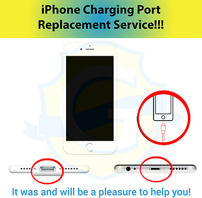 iPhone 6 Plus A1522 Charging Repair Service Turn Around Time 1-3 Business Days