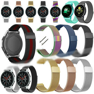 Magnetic Milanese Loop Wristband Watch Strap Band For Huawei Watch GT2 42mm 46mm