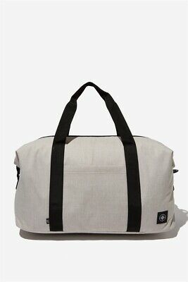Lost Unisex Transit Duffle Bag Bags & Drinking  In  Beige