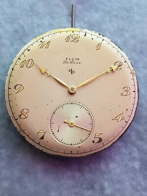 Selling a Vintage 10 Size Elgin DeLuxe 17-Jewel Grade 542 Pocket Watch Movement