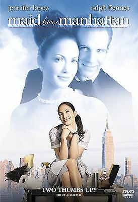 Maid in Manhattan DVD COMPLETE WITH ORIGINAL CASE & COVER ART BUY 2 GET 1 FREE