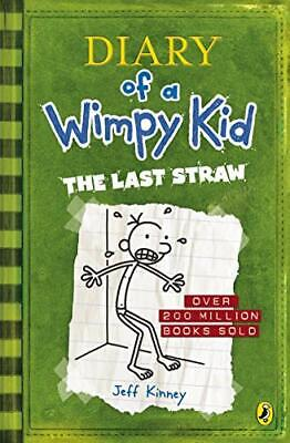(Good)0141324929 The Last Straw (Diary of a Wimpy Kid),Jeff Kinney,Paperback,Puf