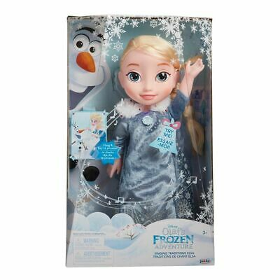Frozen Singing Traditions Elsa 14 Inches Doll - Olaf's Adventure *Lights *Sounds