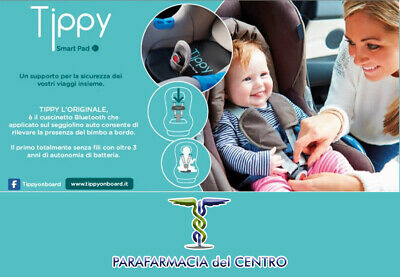 TIPPY SMART PAD Dispositivo Anti Abbandono (Incluso Certificato di Conformità)