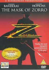 The Mask Of Zorro (DVD, 1999) SEALED