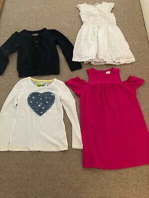 Girls Next Bundle 4 Items Age 9 Years 2 X Dresses, Jumper And Top VGC