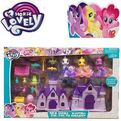 My Little Pony Lovely Horse Play Set Accessories Kids Gift Birthday Christmas UK