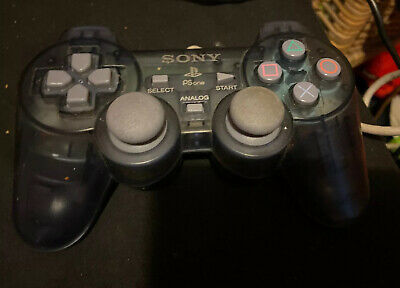 Official PS1 Blue Controller SCPH-110 for Original Playstation 1 psone ps one