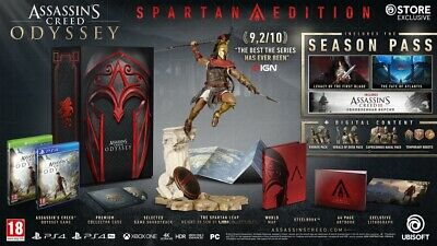 Assassin's Creed Odyssey Collector Spartan Édition Ps4 PlayStation Neuf