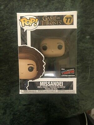 MISSANDEI Funko Pop Game of Thrones #77 w/ 2019 NYCC Exclusive Sticker